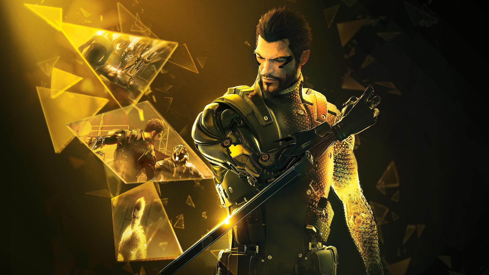 Adam Jensen dans Deus Ex : Mankind Divided