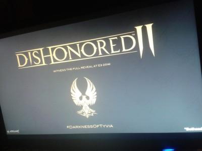 Dishonored 2 révélé avant l'heure