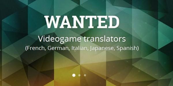 Jeux vidéo premier concours mondial de traduction annoncé