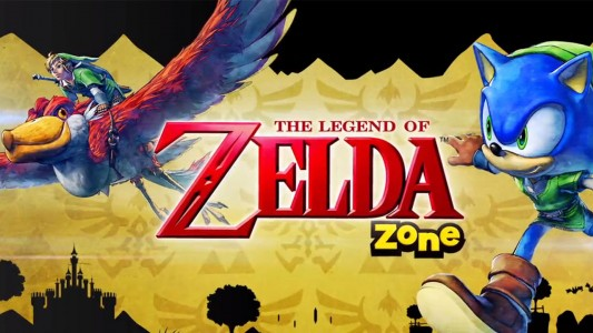 Sonic Lost World The Legend of Zelda Zone