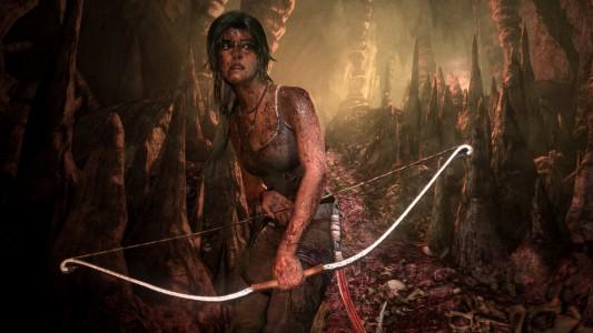 Lara en mode archère