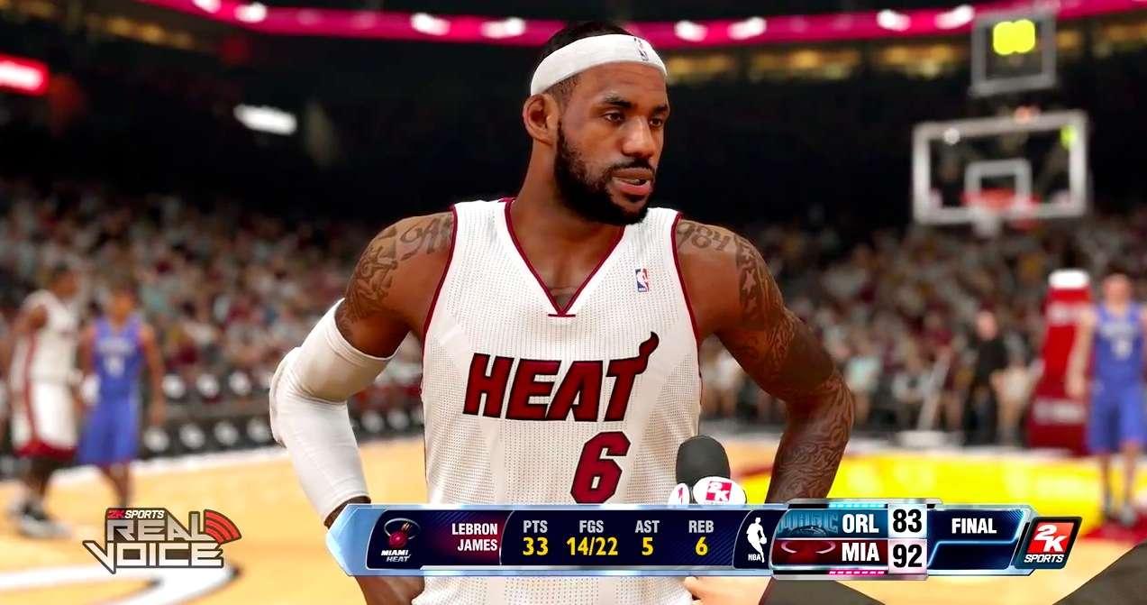 Test de NBA 2k14 sur PlayStation 4
