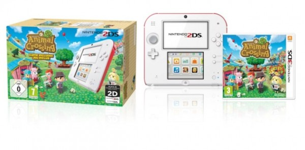 pack 2DS Animal Crossing New leaf