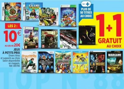 promotions auchan jeux vidéo