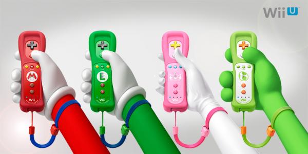 Wiimote Mario, Luigi, Peach, Yoshi