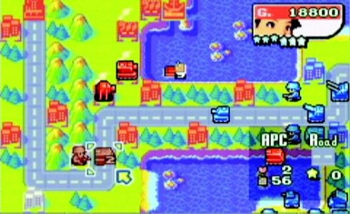 Advance Wars screen wii u
