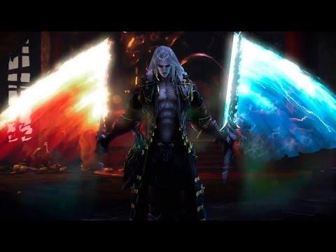 Alucard épées : Galciem et Igneas