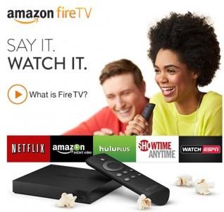 Amazon lance la Fire TV sur le marché du jeu vidéo