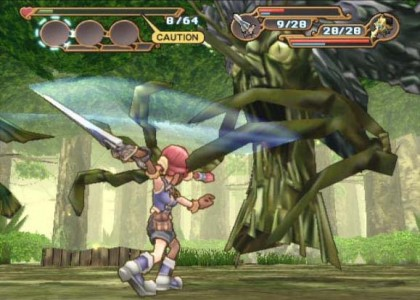 Dark Chronicle combat