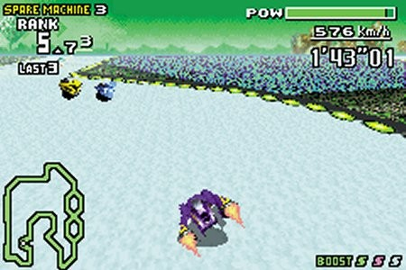 F-Zero Maximum Velocity screen