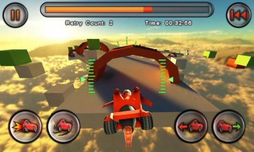 Jet Car Stunts met les gaz en vidéo