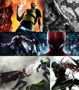 Les super-héros dans les jeux vidéo
