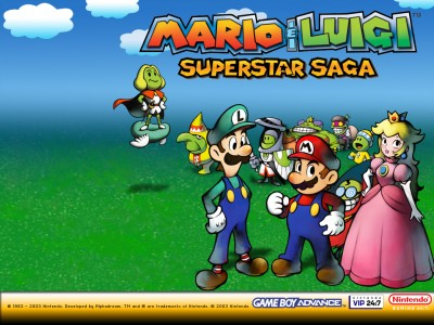 Mario et Luigi Superstar Saga screen