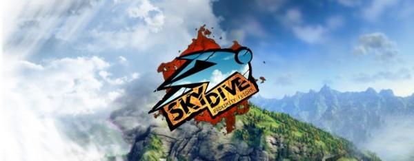 Test de Skydive Proximity Flight - Un jeu pour ceux qui aiment s'envoyer en l'air ! Sky-Dive-Logo-600x234