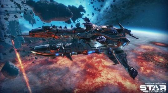 Star Conflict l'Oculus Rift est dans la place