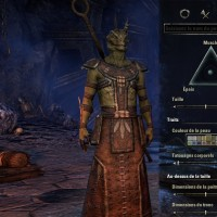 TESO -Creation personnage