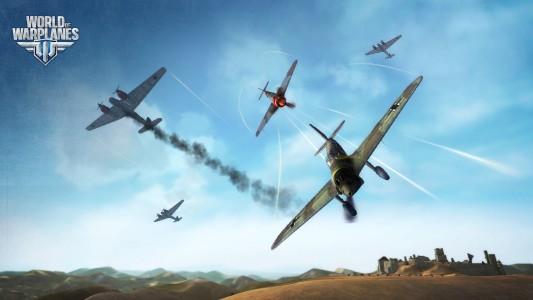 World of Warplanes, mise à jour 1.3 les chasseurs lourds