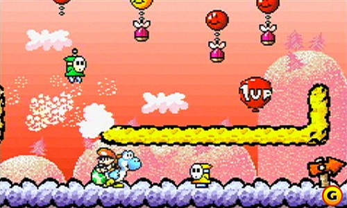Yoshi's Island – Super Mario Advance 3 screen