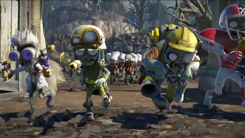 Plants Vs Zombies Garden Warfare le scientifique le fantassin l'ingénieur et le sportif