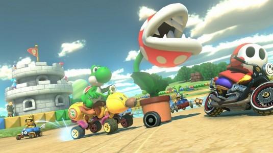Yoshi Mario Kart 8 Lightningamer 09