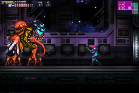 metroid fusion screen