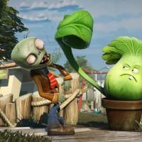 un zombie et une plante