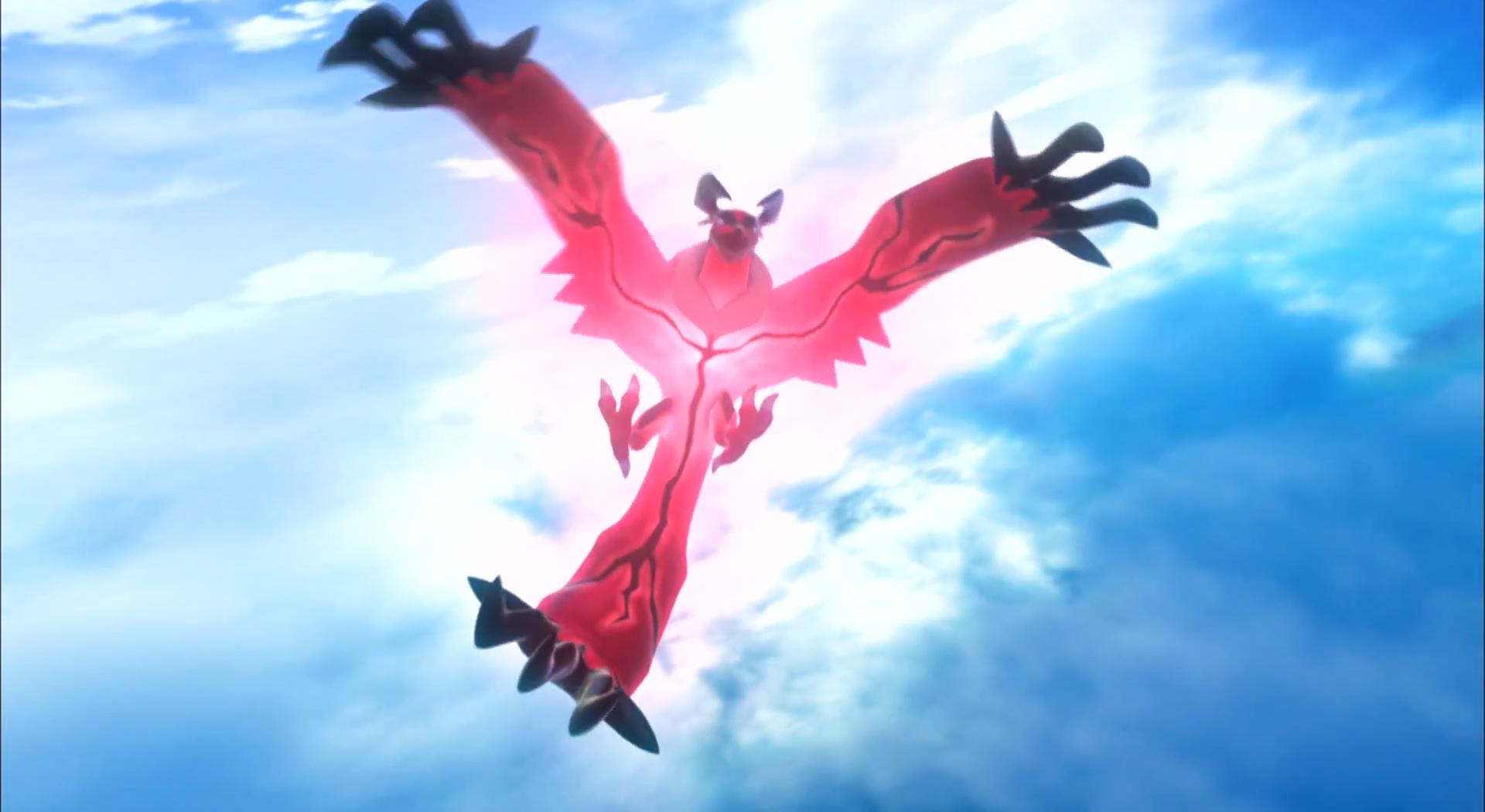 Un Pokémon déploie ses ailes