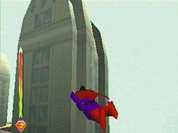 superman vole n64