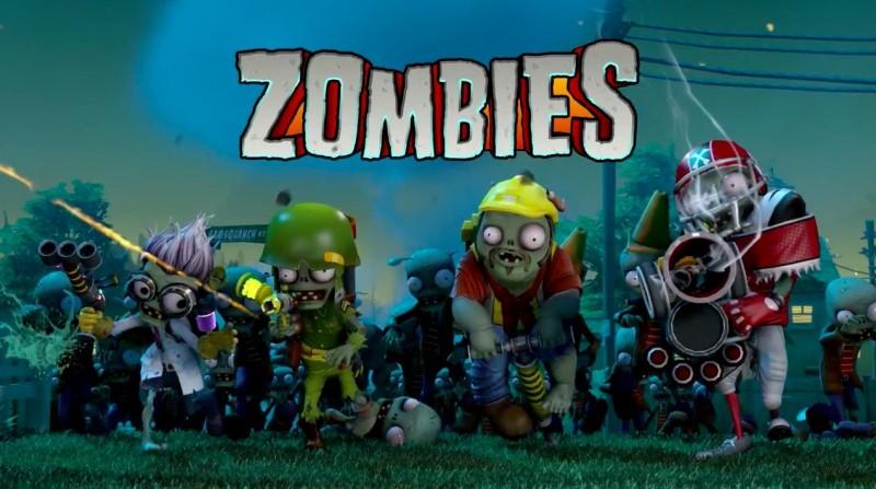 Plants Vs Zombies Garden Warfare l'équipe des zombies