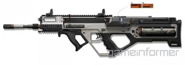 Call of Duty : Advanced Warfare 3D-Printer Rifle