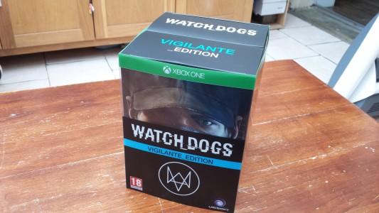 Coffret Watch_Dogs Vigilante Edition