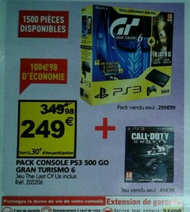 Auchan promo pack PS3