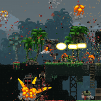 Broforce explosion