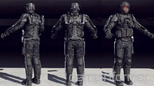 Call of Duty : Advanced Warfare exosquelette