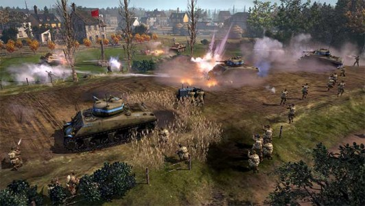 Company of Heroes 2 vidéo de gameplay pour le stand-alone
