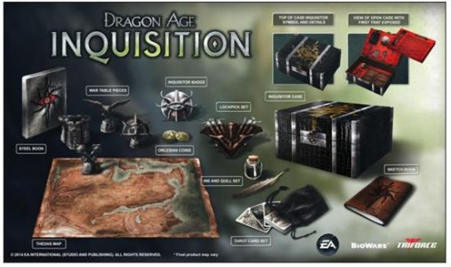 Dragon Age 3 : Inquisition l'édition collector