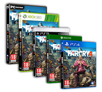 Far cry 4 jaquettes