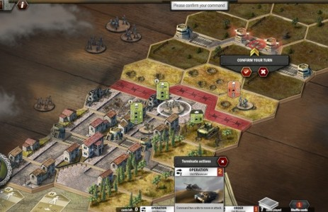 Panzer General Online cartes