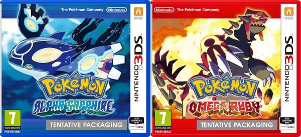 Pokémon Alpha Saphir Omega Rubis