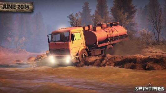 Spintires Camions Tout-Terrain Simulator daté