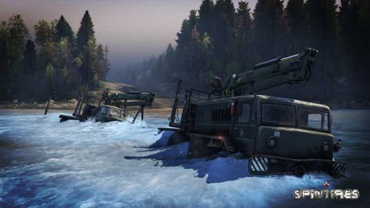 Spintires Camions Tout-Terrain Simulator salaire