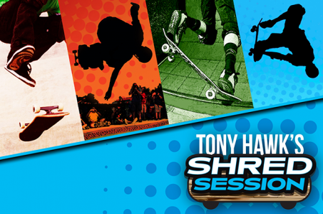 Tony Hawk's Shred Session roule sur mobiles