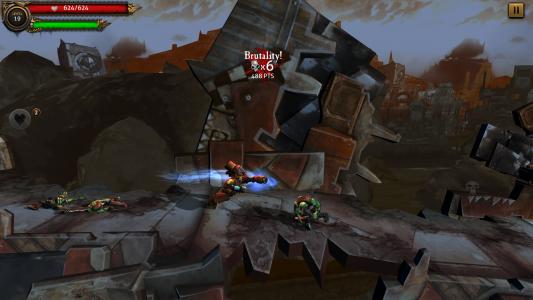 Warhammer 40,000 Carnage arrive sur iOS