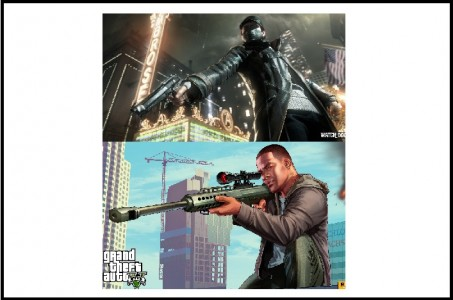 Watch_Dogs contre GTA 5