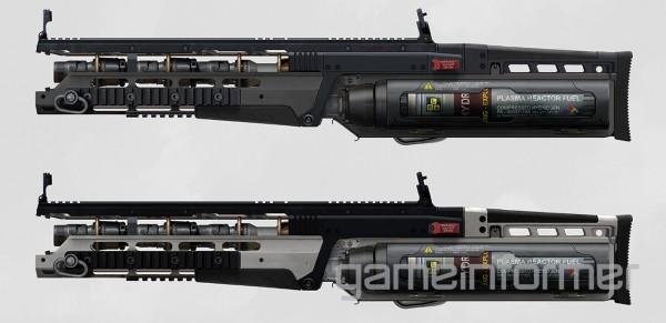 Call of Duty : Advanced Warfare fusil plasma
