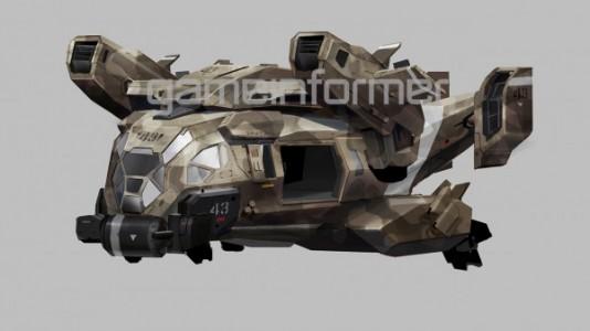 Call of Duty : Advanced Warfare véhicule