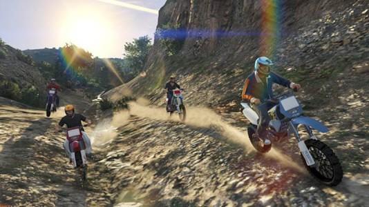 Stream Racer propose un circuit rugissant au milieu de la campagne.