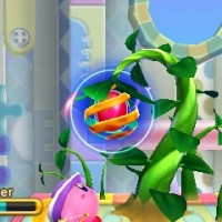 Kirby Triple Deluxe haricot magique
