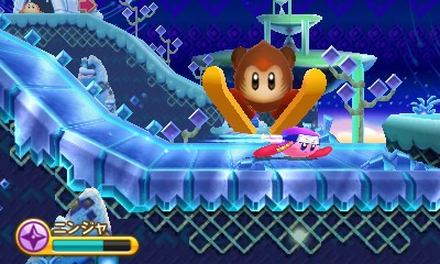 Kirby Triple Deluxe ski