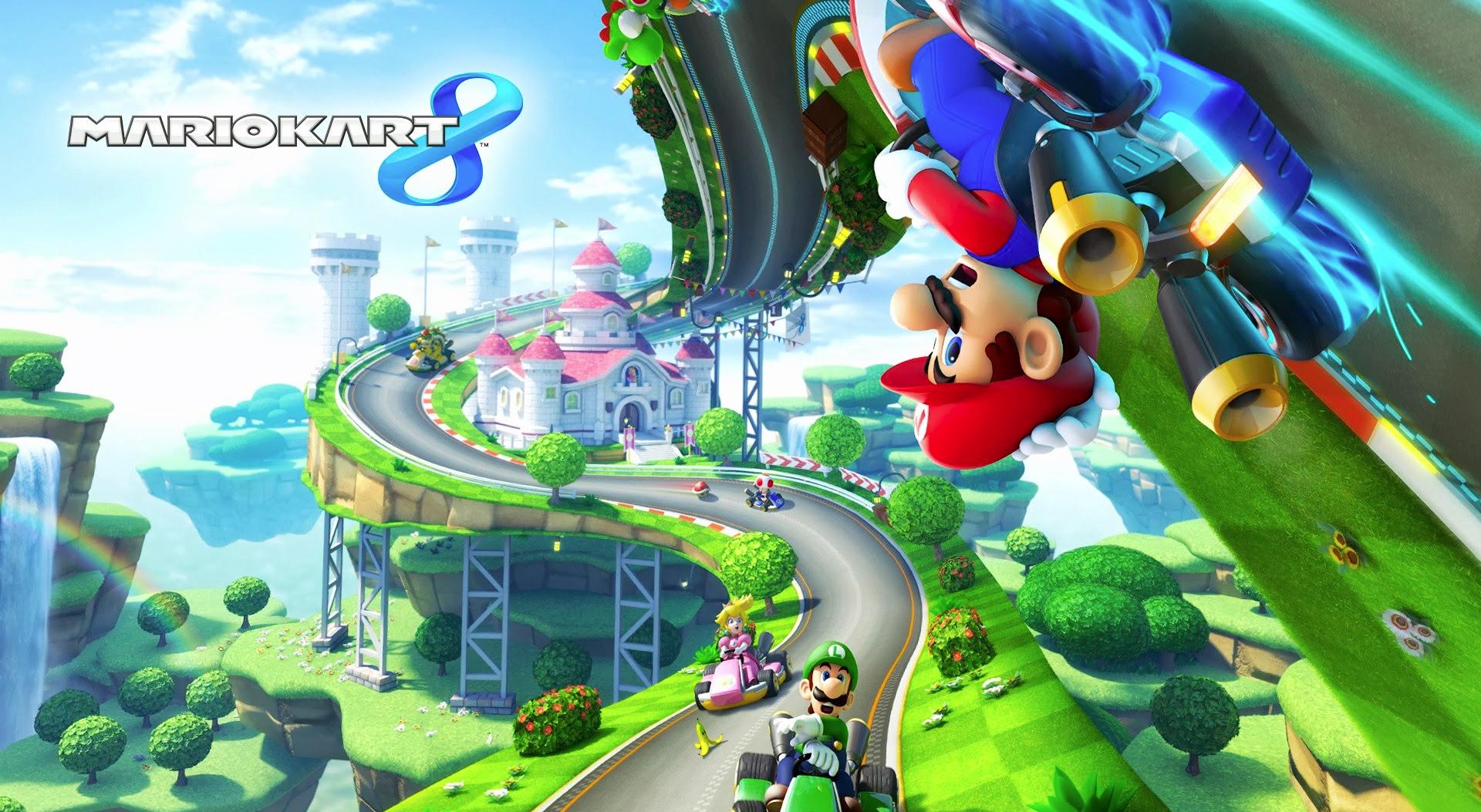 Mario est de sortie sur son kart